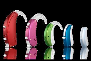 מכשירי שמיעה לילדים - צבעים שונים