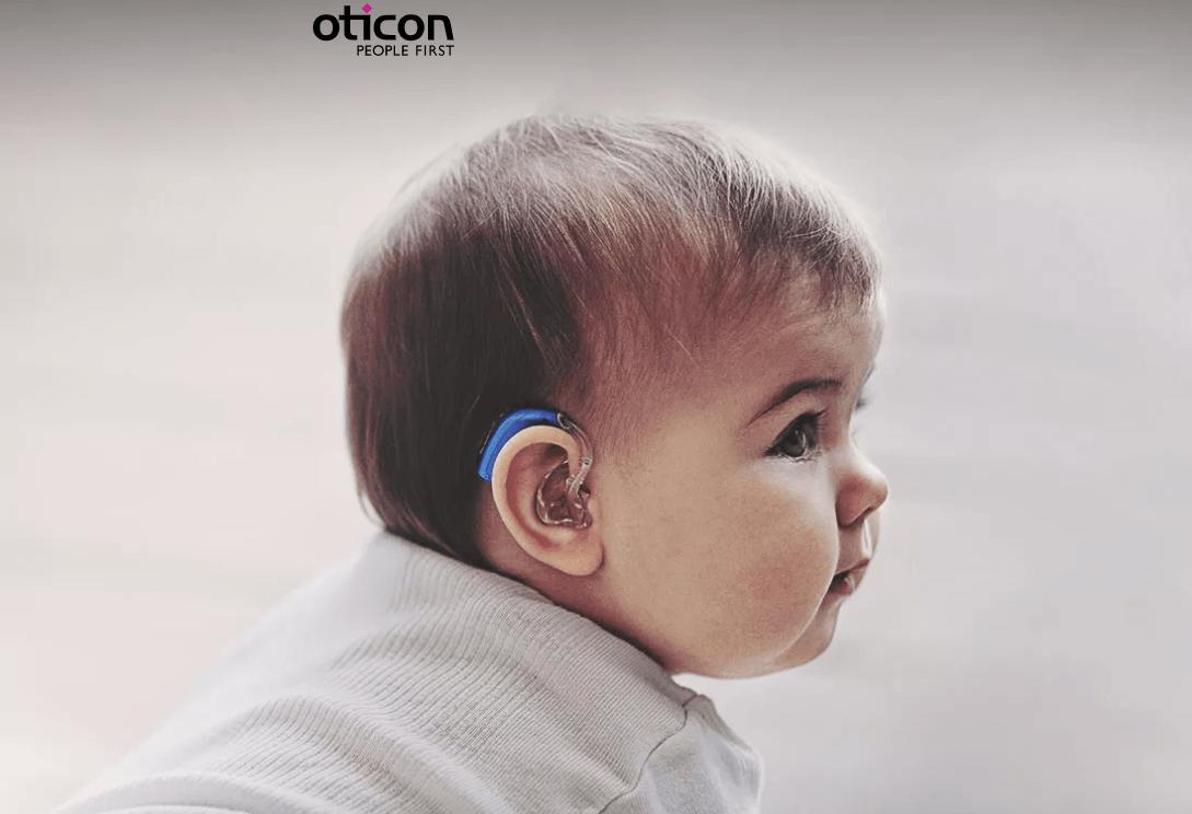 מכשיר שמיעה נטען לתינוקות - Opn Play