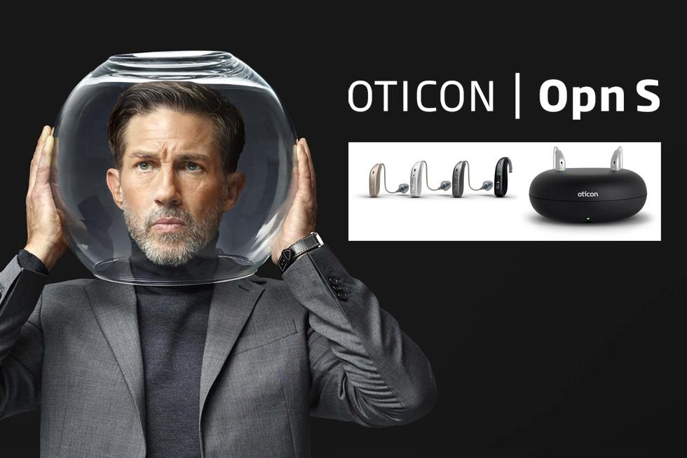 מכשיר שמיעה דגם Oticon Opn S לשמיעה חדה במיוחד