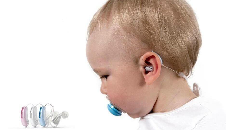 מכשיר שמיעה מיוחד לתינוקות דגם - Baby 440