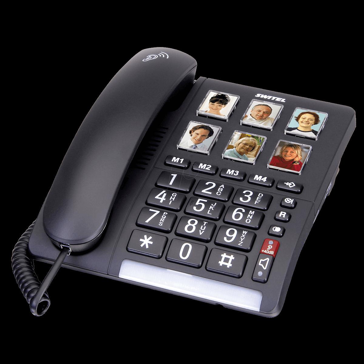 טלפון שולחני מוגבר TF540